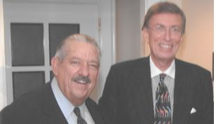 Senator Fred Harris with Alan Curtis